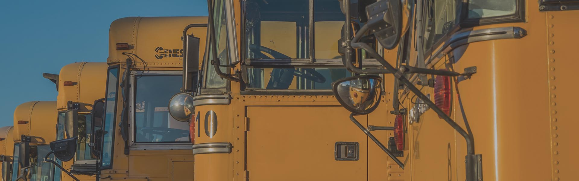 School Bus Header Image